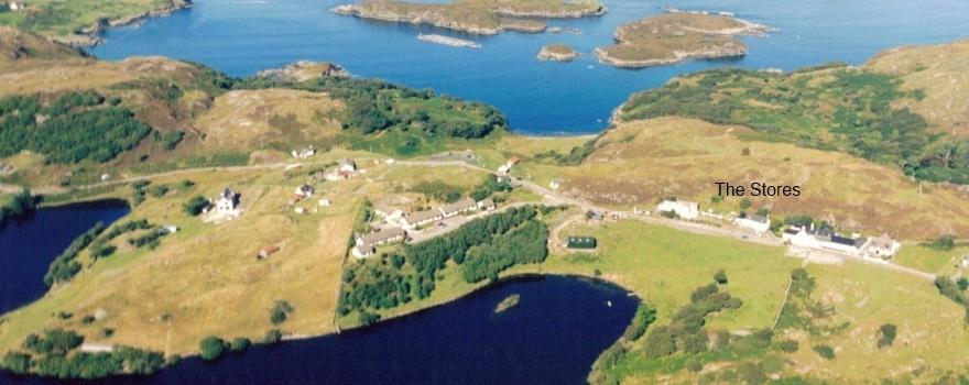 licensed grocery shop lochinver drumbeg